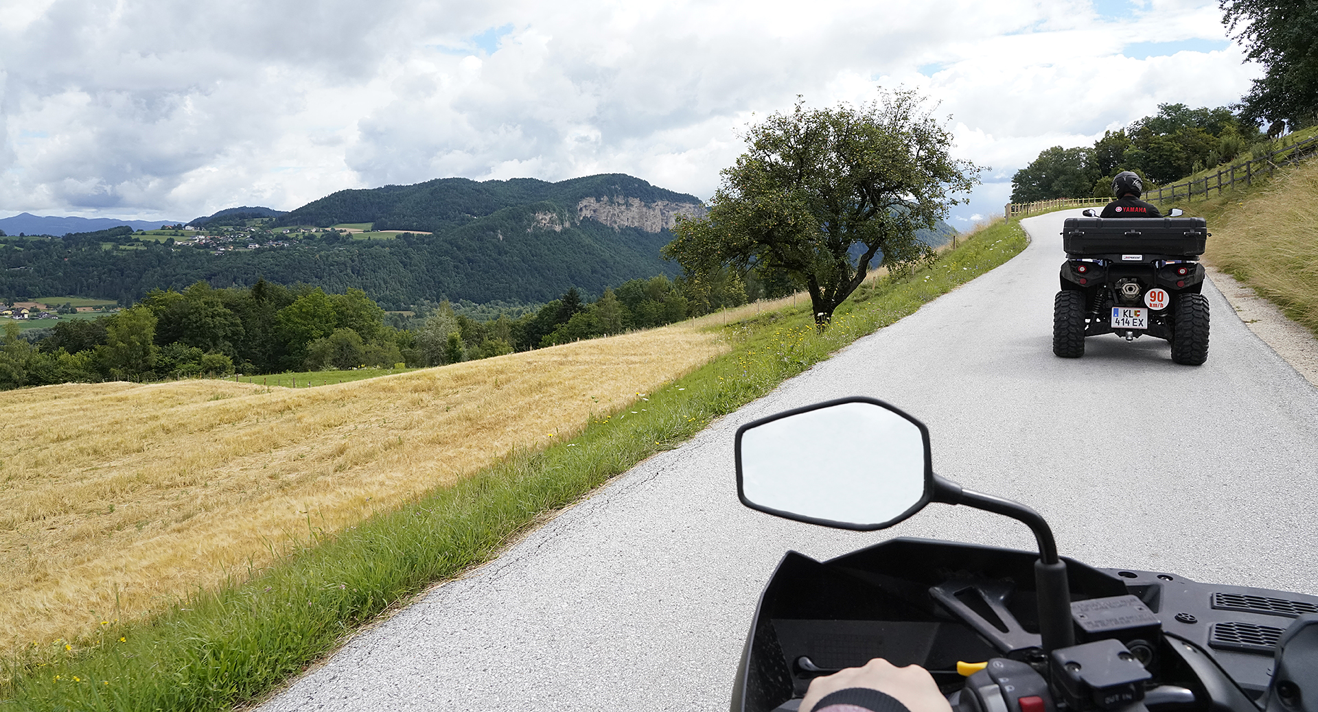 Panorama Quad Tour in Kärnten
