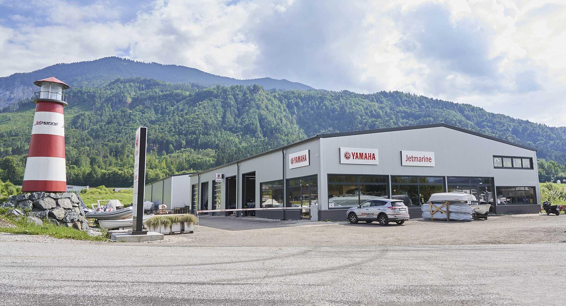 Standort der JetMarine in Kärnten